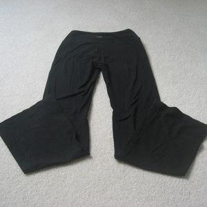 Marika Black Flare High Rise Yoga Pants Small